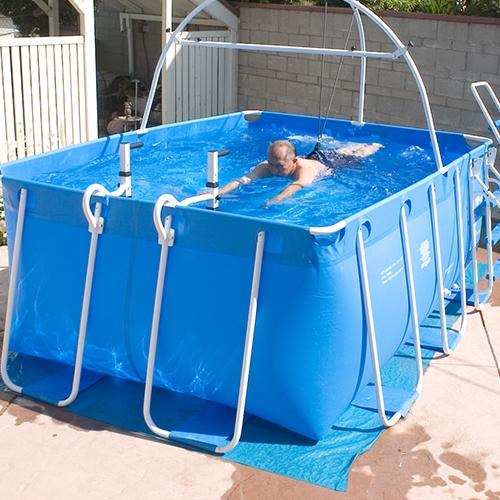 美国客户游泳池-1