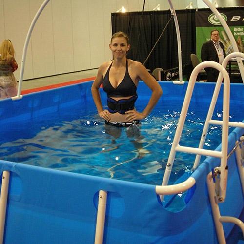 拉斯维加斯展会游泳池