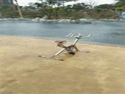 水下健身器材广州案例